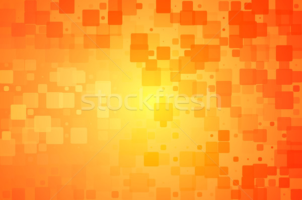 Red orange yellow glowing various tiles background  Stock photo © TasiPas