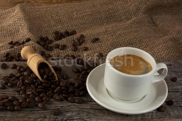 Stock fotó: Kávéscsésze · kávé · csésze · kávé · erős · reggel