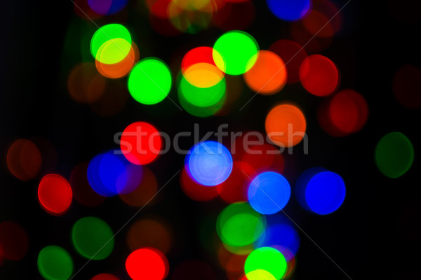 Street illumination bokeh background  Stock photo © TasiPas