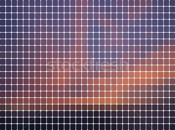 Purple abstract rounded mosaic background  Stock photo © TasiPas