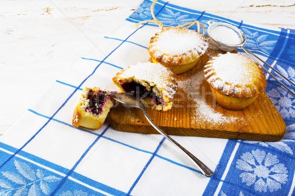 Sweet small pie, close up  Stock photo © TasiPas