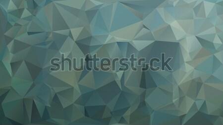 Cinza verde baixo abstrato projeto tecnologia Foto stock © TasiPas