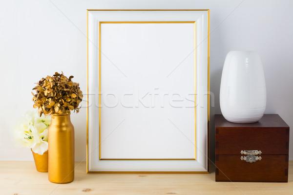 フレーム 木製 ボックス ストックフォト © TasiPas