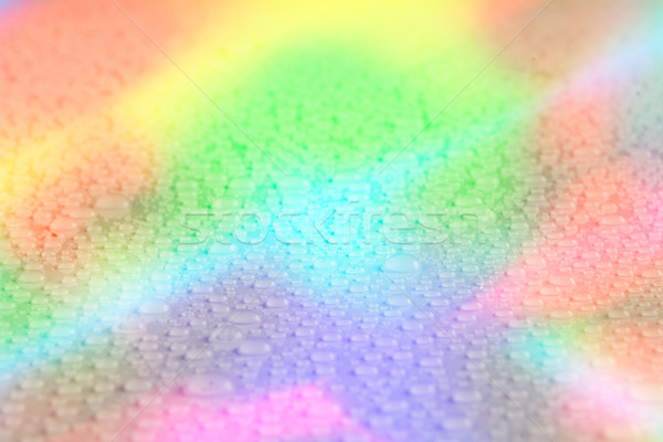 Rainbow water drop background Stock photo © TasiPas
