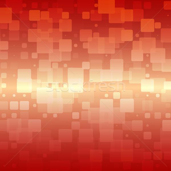 оранжевый красный бежевый плитки вектора Сток-фото © TasiPas