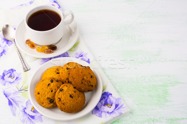 茶碗 クッキー 薄緑 コピースペース カップ 茶 ストックフォト © TasiPas