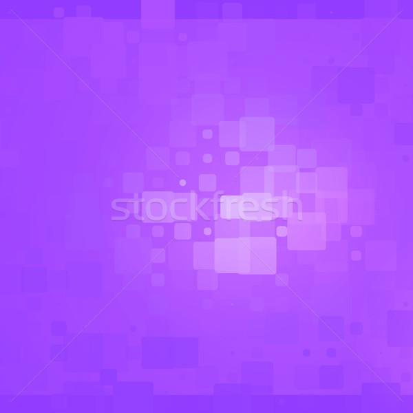 Purple shades glowing rounded tiles background  Stock photo © TasiPas