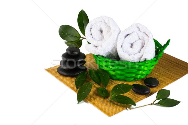 Spa product concept isolated on white  Stock photo © TasiPas