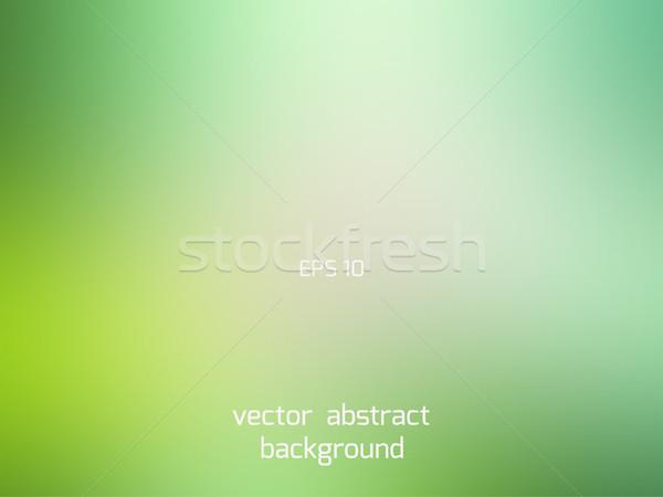Green shades smooth blur background Stock photo © TasiPas