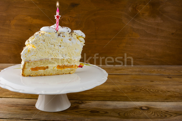 Birthday cake background  Stock photo © TasiPas