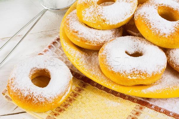 Homemade sweet donuts  Stock photo © TasiPas