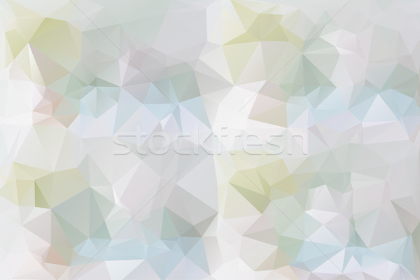 Pastel colors low poly background Stock photo © TasiPas