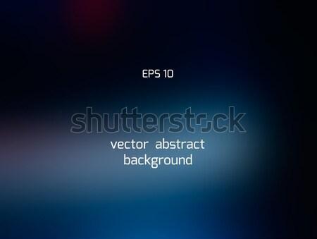 темно синий Blur аннотация градиент Сток-фото © TasiPas