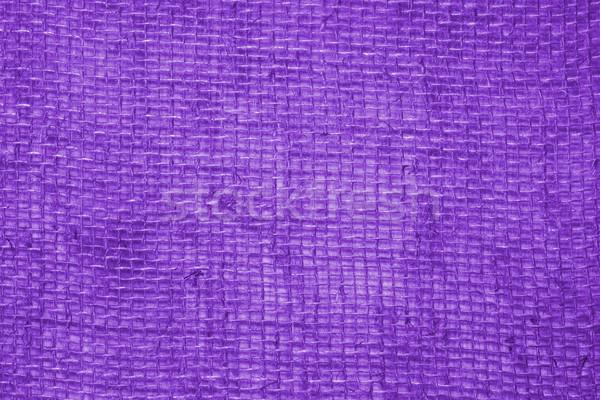 Purple linen fabric background  Stock photo © TasiPas