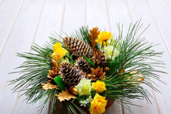 クリスマス 表 松 ストックフォト © TasiPas