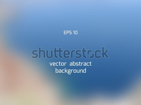 Seashore smooth blur background Stock photo © TasiPas
