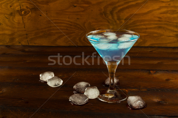 Cocktail Blue Margarita  Stock photo © TasiPas