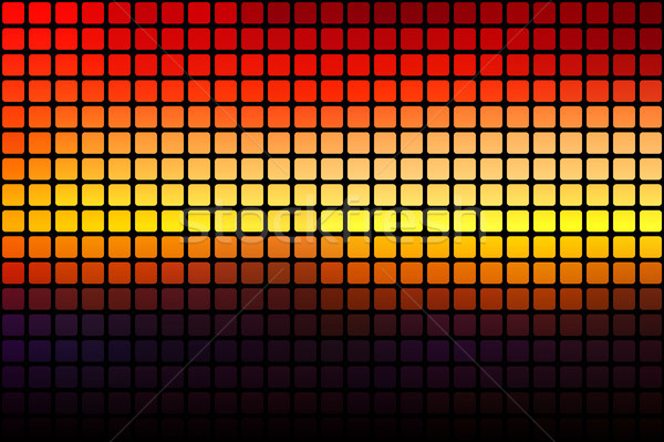 Purple orange yellow red brown abstract rounded mosaic backgroun Stock photo © TasiPas