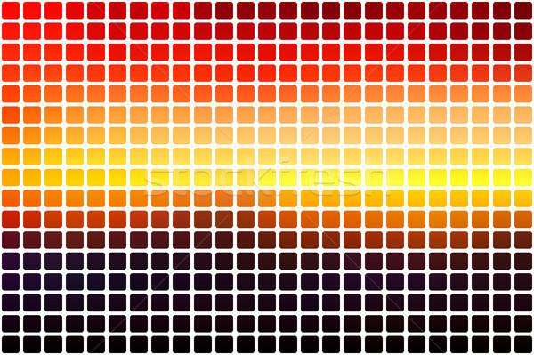 Paars oranje Geel Rood bruin abstract Stockfoto © TasiPas