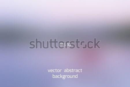 Manhã céu borrão roxo cinza abstrato Foto stock © TasiPas