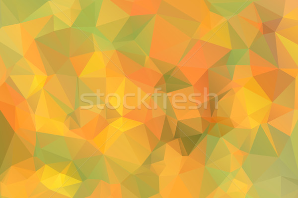 Photo stock: Vert · jaune · orange · faible · résumé · design