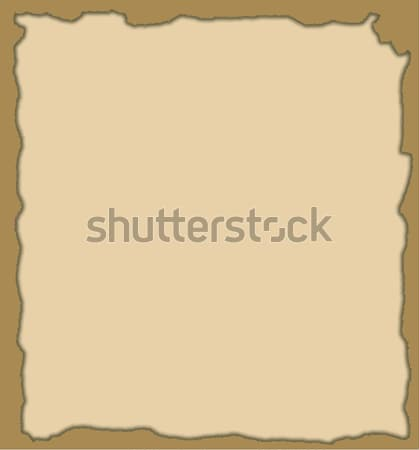 Background - a hole in burnt paper  Stock photo © tatiana3337