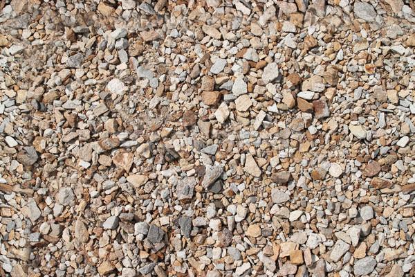 Végtelenített kövek kicsi szürke sóder használt Stock fotó © tatiana3337