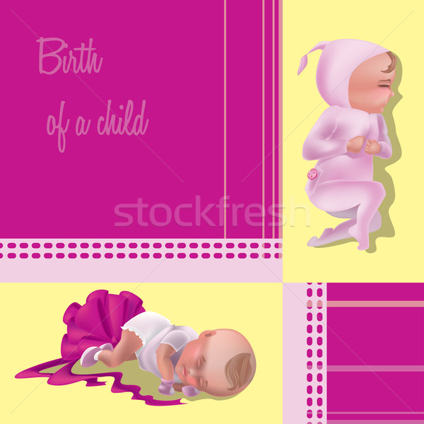 Születés gyermek egy fontos események emberi Stock fotó © tatiana3337