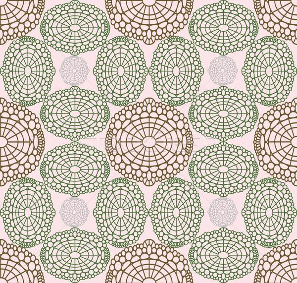 ストックフォト: バラ色の · パターン · 幾何学的な · 風通しの良い · テクスチャ · 抽象的な