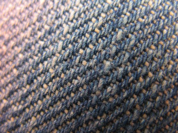 Texture denim shot primo piano focus centro Foto d'archivio © tatiana3337