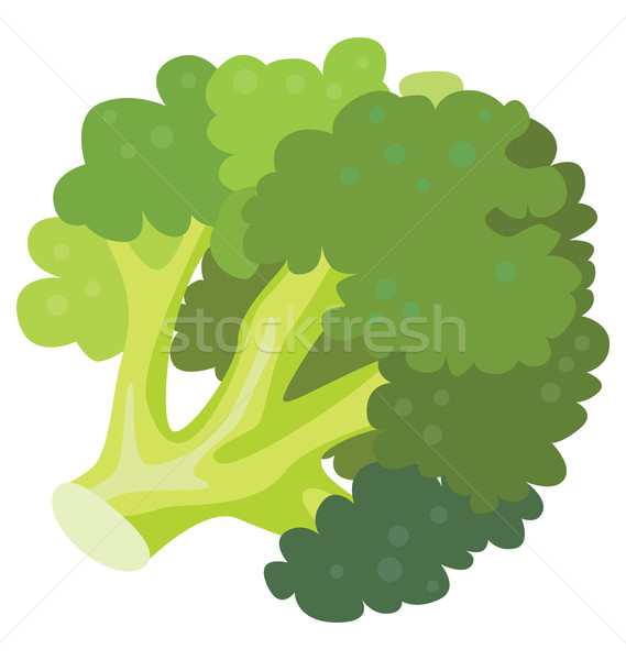 Groene broccoli bron vitaminen gezondheid ontwerp Stockfoto © tatiana3337