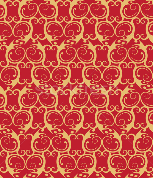 vignette. Seamless pattern. Stock photo © tatiana3337