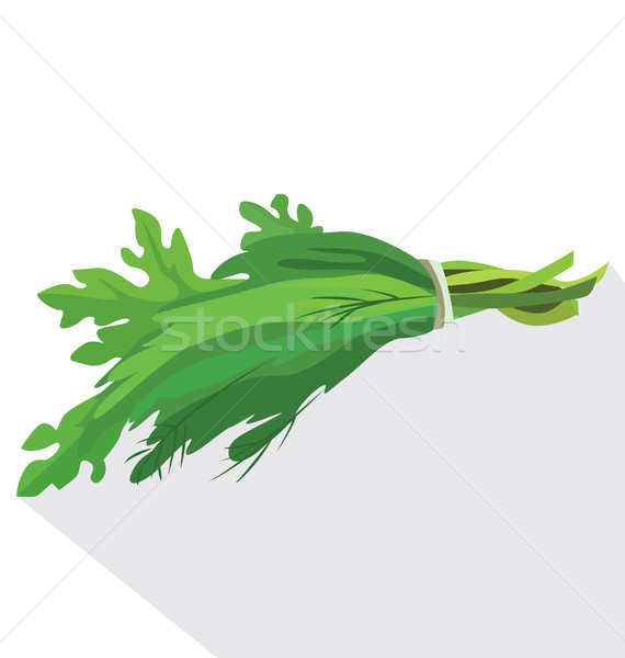 bunch of fresh herbs Stock photo © tatiana3337