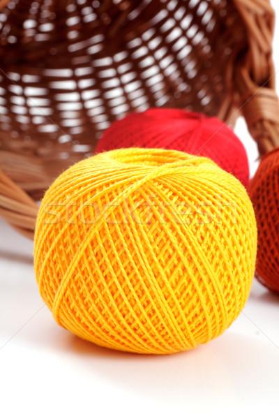 yarn for knitting Stock photo © Tatik22