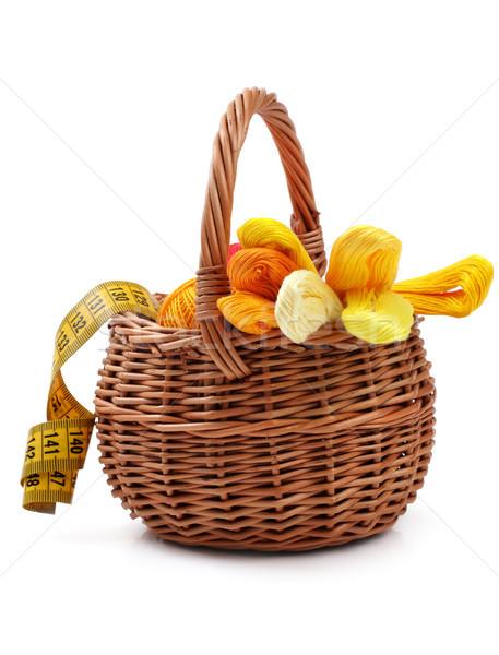 Craft basket Stock photo © Tatik22