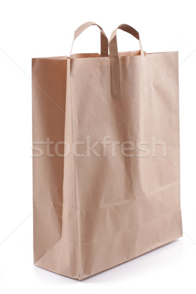 紙袋 白 紙 袋 ストア パッケージ ストックフォト © Tatik22