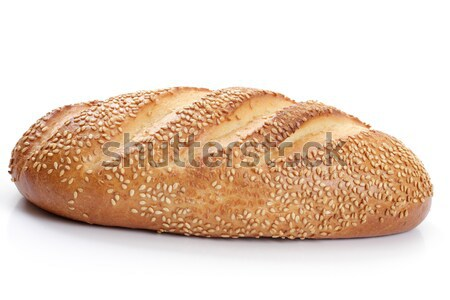 loaf of white bread with sesame seeds  Stock photo © Tatik22