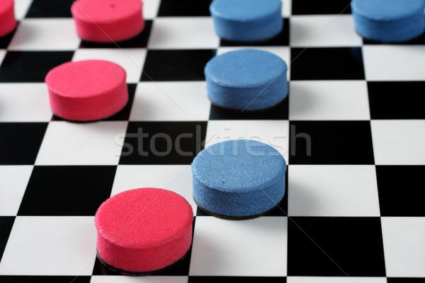 Checkers Stock photo © Tatik22