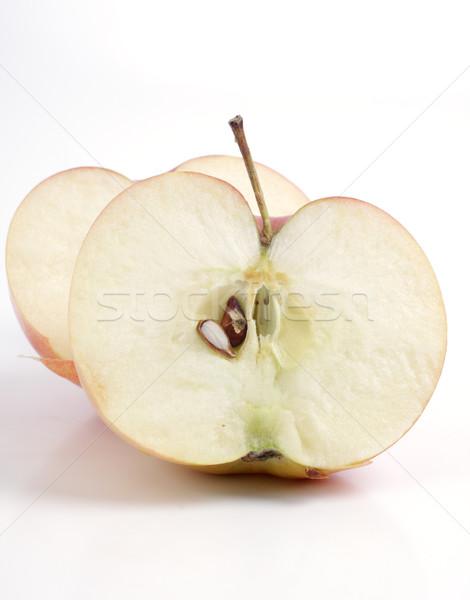 Elma beyaz stüdyo taze yemek Stok fotoğraf © Tatik22