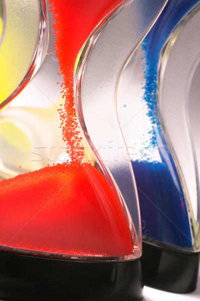 hourglass closeup shot Stock photo © Tatik22