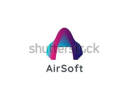 Lettera logo aria arrow icona Foto d'archivio © taufik_al_amin