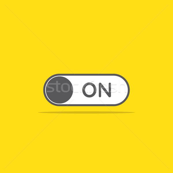 Değiştirmek ikon stil dizayn web hareketli Stok fotoğraf © taufik_al_amin
