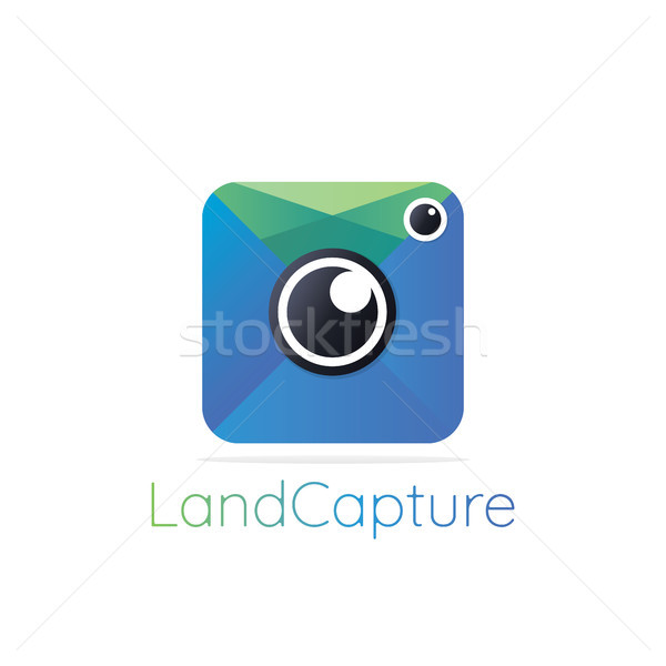 Apps photography logo icon. Abstract Photography Logo Design. Ph Stock photo © taufik_al_amin