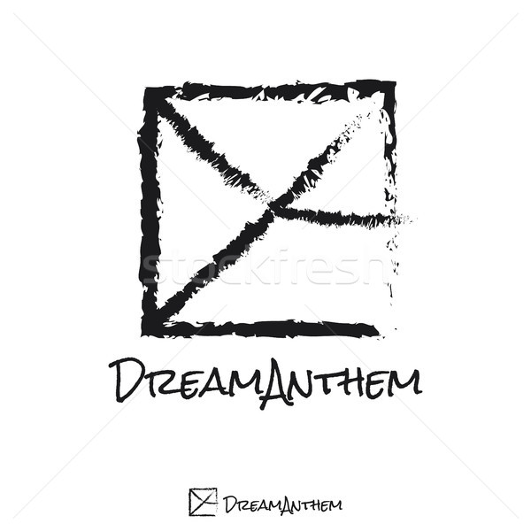 Carta praça logotipo músico modelo música Foto stock © taufik_al_amin