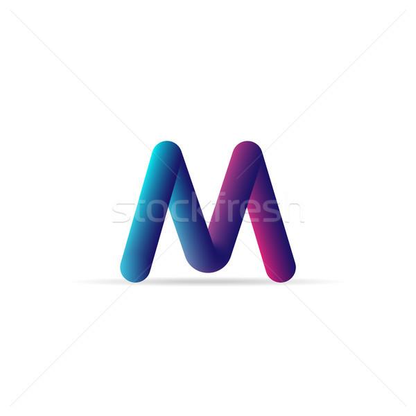 Letra c logotipo ícone abstrato alfabeto assinar Foto stock © taufik_al_amin