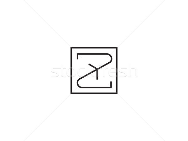 Logotipo modelo alfabeto símbolo corporativo Foto stock © taufik_al_amin