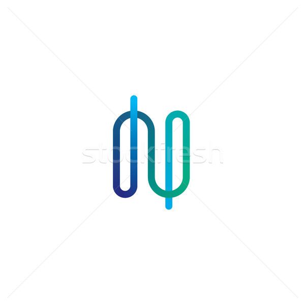 Logotipo ícone elementos linear projeto Foto stock © taufik_al_amin