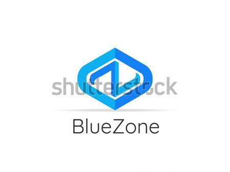 letter NZ logo icon. abstract alphabet sign design. Stock photo © taufik_al_amin