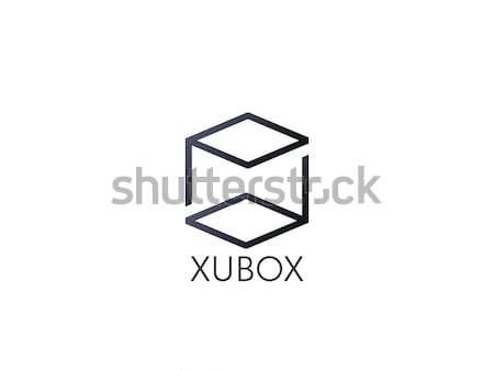 Levél logo absztrakt ábécé felirat terv Stock fotó © taufik_al_amin