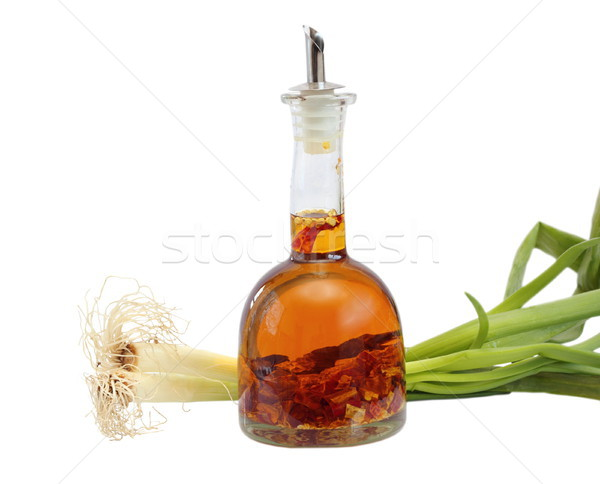 peppery olive oil and onion Stock photo © taviphoto